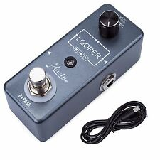 Rowin LEF-332 Mini Guitar Looper Pedal 10 minutes Recording USB port