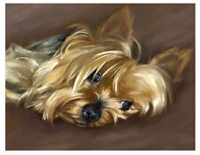 artav Yorkshire Terrier 04 Art Print Dog Puppy Painting