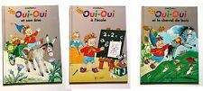 Lot 3 albums livres jeunesse Oui-Oui Enid Blyton école cheval de bois âne