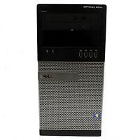 Dell OptiPlex 9010 Tower 3rd Gen Quad Core i5 3.4GHz 8GB 256GB SSD DVDRW Win 10