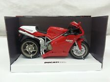 NEW-RAY MODELLINO MOTO DUCATI 998 s,SCALA 1.12,COLORE ROSSO,DIE CAST