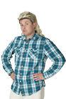 Mullet Bleached Blonde Mullet Full Top Wig Long Back Redneck Funworld