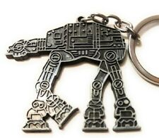 Star Wars At-At Atat Figurine metal replica keychain Key chain collectible Ss