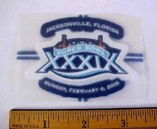 2005 SUPER BOWL XXXIX (39) NFL FOOTBALL JACKSONVILLE FLA HEAT TRANSFER STICKER