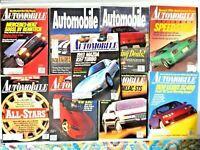 Lot of 9 Automobile Magazines 1991 - 1993