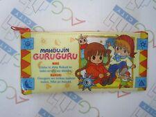 Anime Magical Circle Mahojin Guru Guru Soft Pen Pencil Case Bag Japan Showa Note