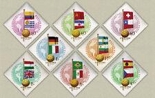 Hungary 1962. Football World champ. Chile set MNH  Mi.: 1830-1837 / 8.50 EUR
