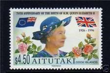 Aitutaki 1996 Queens 70th Birthday SG 694 MNH