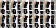 10 LOT AC Power Supply Adapters + 10 LOT AV RCA Cable Cord for Playstation 1