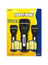 Rayovac GPR2AA2AA2D-BB Value Bright KRYPTON Flashlights, Pack Of 3 w/Batteries