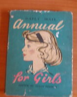 DAILY MAIL ANNUAL FOR GIRLS H/B D/W Edited by SUSAN FRENCH