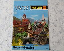 Faller  -- Modellbau Katalog  1976/77
