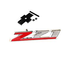 GENUINE Chrome Red Grille Z71 Emblem 3D for GM Silverado Z71 Sierra Tahoe Lu