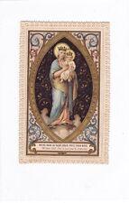 Image Pieuse Christianisme Religion Canivet Notre Dame du Sacré Cœur circa 1897