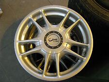 4 llantas de aluminio ronal tipo 7500 x7 como nuevo con Abe y tornillos para muchos automóviles frase!