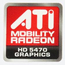ATI MOBILITY RADEON HD 5470  STICKER LOGO AUFKLEBER 16x16mm (412)