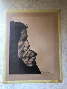 Vintage Robert Gentry Signed Litho Original 41/150