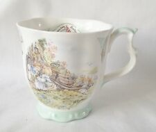 RARE Brambly Hedge Homeward Bound Beaker - 1st Quality Royal Doulton China
