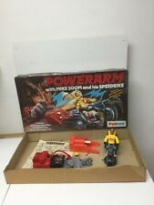 Vintage Powerarm Mike Zoom & His Speedbike ~ Working Palioty Mego Toy