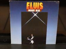 Elvis Presley Moody Blue RCA AFL1-2428 Blue Vinyl LP Record with Sleeve