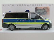 """Busch 51125 Mercedes-Benz Vito (2014) """"Polizei Bremerhaven"""" 1:87/H0 NEU/OVP"""