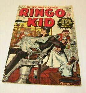 ATLAS Western #15 1956 Vintage Comics Comic Book Rare Barber Shop RINGO KID Dec