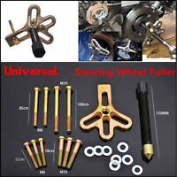 Universal 21Pcs Carbon Steel Harmonic Balancer Steering Wheel Puller Tool Pulley