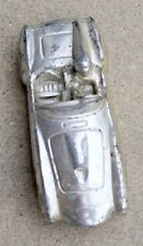 Vintage Metal Race Car/driver