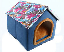 New Small Size Pet Dog Cat House Portable Washable Pet Beds