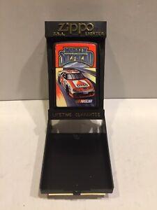 New ZIPPO LIGHTER Morgan Shepherd CITGO #21 NASCAR stock racing car WITH CASE