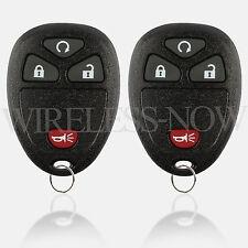2 Car Key Fob Keyless Remote For 2005 2006 2007 2008 2009 Chevrolet Uplander