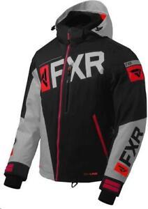 FXR Racing Ranger Jackets 200042-1020-13 Lg Black/Grey/Red