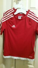 Lot of two Red Adidas shirt 11 - 12 year old boy Medium new