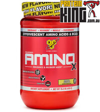 BSN AMINO X 435G 30 SERVE PINEAPPLE BCAA AMINOS RECOVERY INTRA WORKOUT BPI BSC
