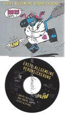 CD--EAV UND ERSTE ALLGEMEINE VERUNSICHERUNG-- 300 PS -AUTO-