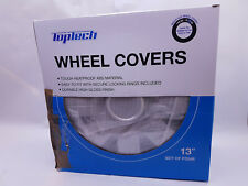 Set of 4x 13 Inch (13'')Alloy Look Wheel Trims Cover Hub Caps Tyre Cap Silver