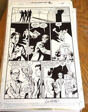 X-Files original comic art Page Season 1 #8 (1998) page 15 inked Mulder Scully
