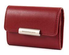 MANDARINA DUCK Hera 3.0 Key Case Schlüsselmäppchen Geldbörse Red Rosa Neu