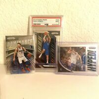 2018 Panini Prizm Luka Doncic #280 PSA 9 Rookie Card + Extras PSA 10 ? BEST LOT!