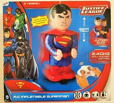 Licensed DC Comics 69cm Inflatable Remote Control SUPERMAN Fun RC Toy