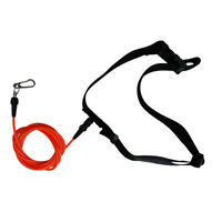 Adjustable Swimming Leash Stationary Cord Swim Pool Hip Belt Training Tether
