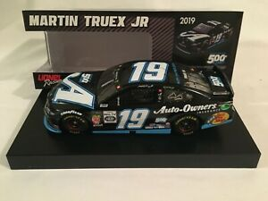 Martin Truex Jr # 19 Auto Owners Insurance 500th Start   1/24 (FREE SHIP)