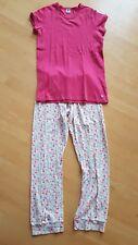 Petit Bateau Mädchen Sommer Schlafanzug Pyjama 16a 158/164 Millefleur Pyjamaset