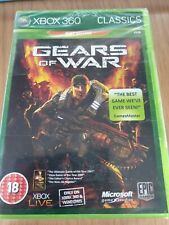 GEARS OF WAR XBOX 360. BRAND NEW AND FACTORY SEALED.  FREE UK POST!