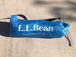 LL BEAN Sunbuster Tent Shelter Portable Pop-up Beach Sun Shade
