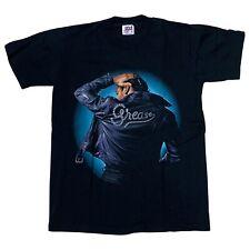 VTG Grease Movie John Travolta Black Tee Shirt Men's Size S