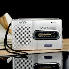 Portable Pocket Radio AM/FM AM 530-1600 FM 88-108 KHz Receiver World Universal