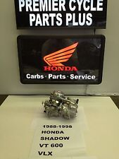 1988-1998 HONDA SHADOW VT 600C  REMANUFACTURED  CARBS CARBURETORS READY TO RUN