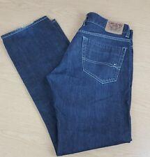 Tommy HILFIGER Rogar Regular Jeans 34 Waist 33.5 Leg Button flytall lange