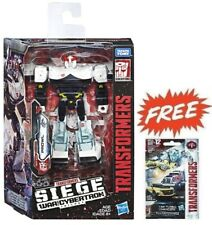 TRANSFORMERS WFC WAR FOR CYBERTRON SIEGE DELUXE PROWL ACTION FIGURE +TINY 01